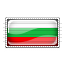 Bulgaria Flag Stamp Icon