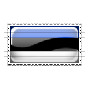 Estonia Flag Stamp Icon
