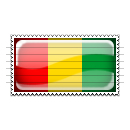 Guinea Flag Stamp Icon