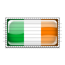 Ireland Flag Stamp Icon