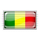 Mali Flag Stamp Icon