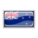 New Zealand Flag Stamp Icon