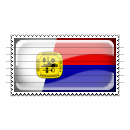Memphis, Tennessee Flag Stamp Icon