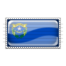 Nevada Flag Stamp Icon