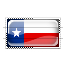 Texas Flag Stamp Icon